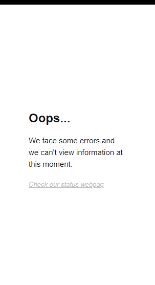 Image of error massages that can appear in the Woodpecker Chrome Extension