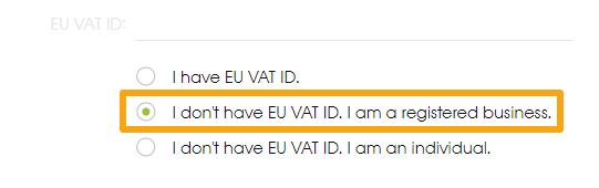 EU VAT ID option 2