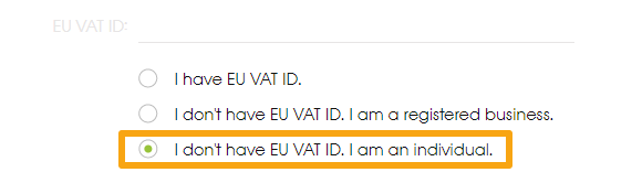EU VAT ID option 3